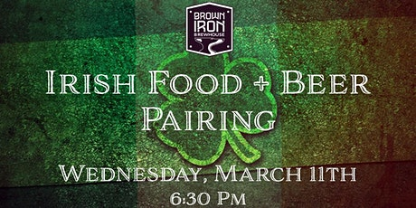 Irish Food and Beer pairing tickets