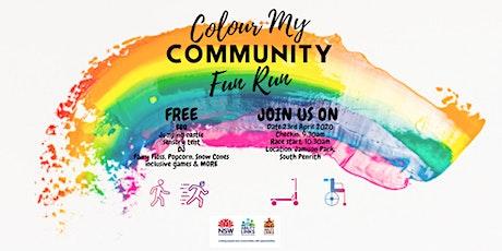 Colour My Community Fun Run/Walk tickets