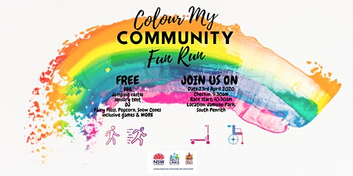 Colour My Community Fun Run/Walk