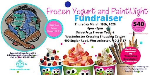 Frozen Yogurt and PaintNight