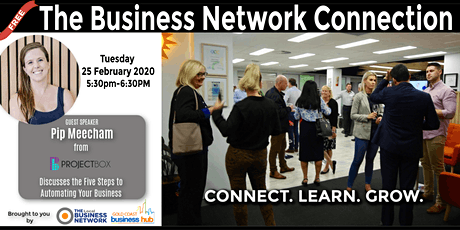 The Business Network Connection - FIRST NETWORKING EVENT OF THE YEAR! tickets