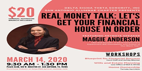 Real Money Talk:  Let's Get Your Financial House in Order tickets