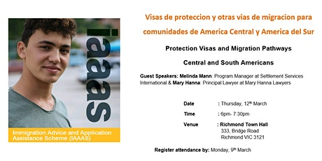 Protection Visas and Migration Pathways  Central and South Americans tickets