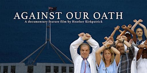 Against Our Oath film screening Sun Theatre + filmmaker Q & A