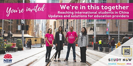 We're in this together: Reaching international students in China tickets