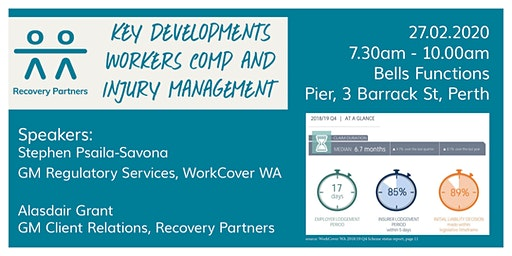 Key Developments - Workers' Comp and Injury Management