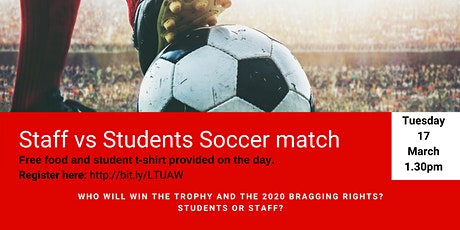 Students v's Staff Soccer Match tickets