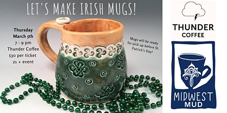 Let's Make Irish Mugs at Thunder Coffee! tickets
