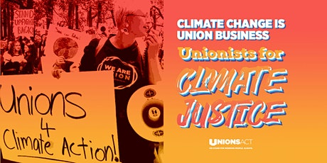 Union contingent to National Day of Action Climate Rally tickets