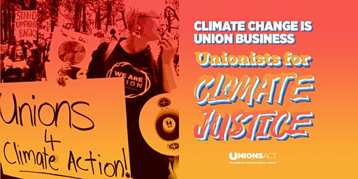 Union contingent to National Day of Action Climate Rally