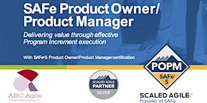 """Curso """"SAFe Product Owner/Product Manager 5.0"""" con..."""