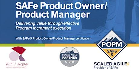 """Curso """"SAFe Product Owner/Product Manager 5.0"""" con certificación como POPM - en Madrid - Borja Marcos Nuñez tickets"""