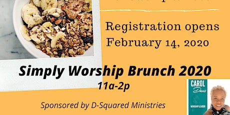 Simply Worship Brunch 2020 tickets