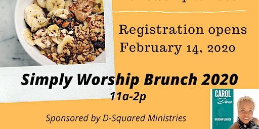 Simply Worship Brunch 2020