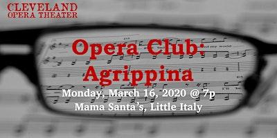 Opera Club: Agrippina