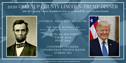 2020 Greenup County Lincoln-Trump Dinner