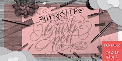 Workshop de Brush Pen em SP - Dias 14 & 15/03