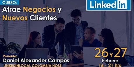 LinkedIn Atrae Negocios y Nuevos Clientes  entradas