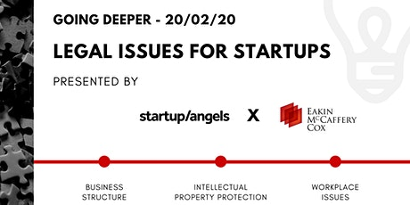 Workshop - Legal issues for startups tickets