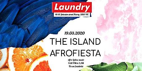 THE ISLAND AFROFIESTA tickets