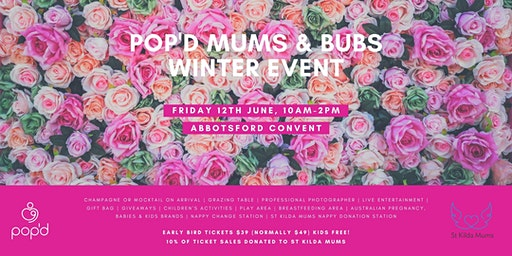 pop'd Mums and Bubs Winter Event