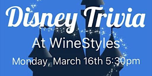 Disney Trivia at WineStyles
