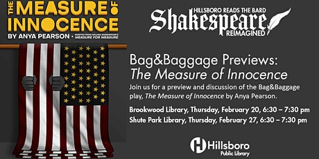 Preview & Discussion: The Measure of Innocence by Anya Pearson tickets