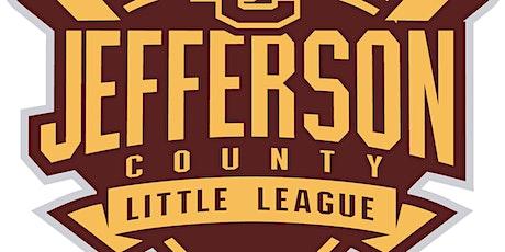 Jefferson County Little League Cash Bash tickets