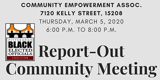 PBEOC - Community Report-Out Meeting