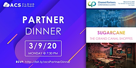 ACS Cloud Partners Dinner with ACC & Vonage tickets