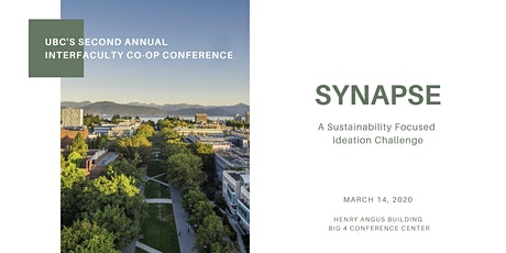 SYNAPSE: UBC Co-op's Sustainability Focused Ideation Challenge tickets