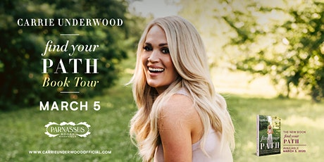 Meet Carrie Underwood and Celebrate FIND YOUR PATH tickets