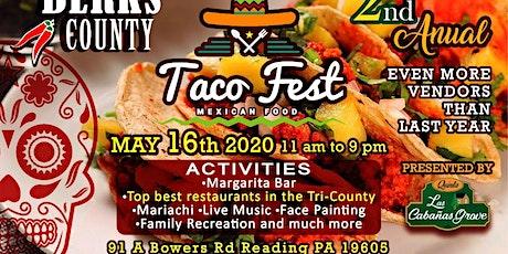 Berks County Taco Fest tickets