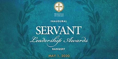 Postponed: Inaugural Servant Leadership Awards Banquet tickets