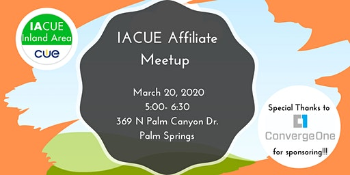 Spring CUE Affiliate Meetup 2020