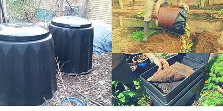 Composting for Beginners....a practical  session  in my garden tickets