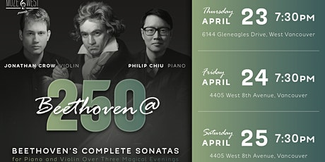 BEETHOVEN 250 (Night 2) tickets