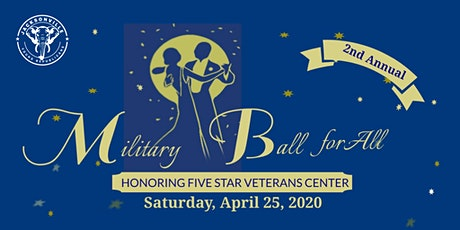 JYR April Community Service: 5 Star Military Ball for All! tickets