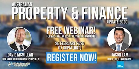 Australian Property & Finance Update 2020 tickets