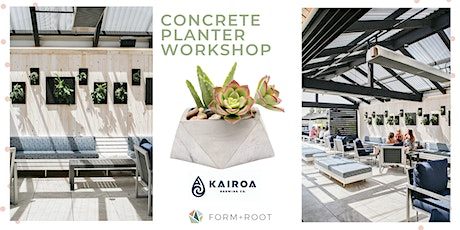 Concrete Planter + Beer Workshop @ Kairoa Brewing tickets