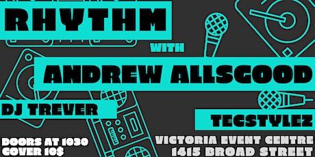 Rhythm Friday Mar 13th. Featuring: Andrew Allsgood tickets