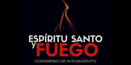 CONGRESO ESPÍRITU SANTO Y FUEGO entradas