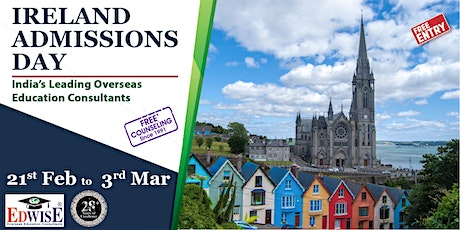 Ireland Admissions Day in Pune tickets