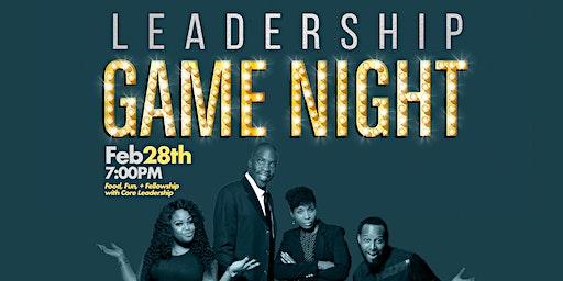 Leadership Game Night
