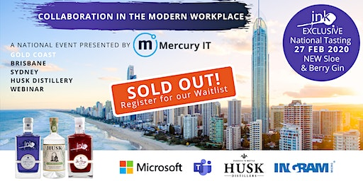 Collaboration in the Modern Workplace with Microsoft - Gold Coast & Webinar 27FEB20