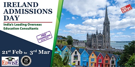 Ireland Admissions Day in Trivandrum tickets