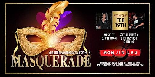 Shanghai Wednesday's Presents: Masquerade