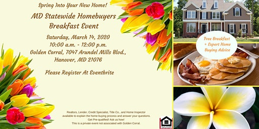 Maryland Statewide Home-Buyers Breakfast Event - Spring 2020