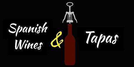 Spanish Wines & Tapas Tasting tickets