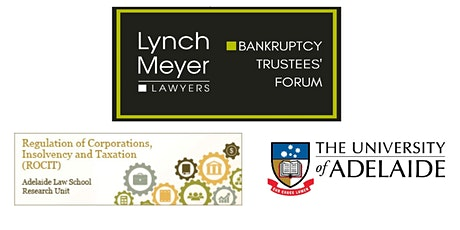 Bankruptcy Trustees' Forum 2020 tickets